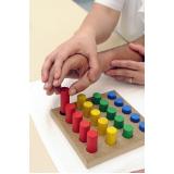 clínica de terapia ocupacional infantil Monte Carmelo